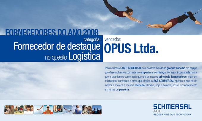 Fornecedor de destaque no quesito logística 2008